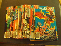 19 Iss Warlord 80-99 Apr And03984-nov And03985 Copper Age Dc Comics Id49079