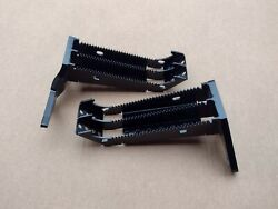 Yamaha Banshee Extended Wider Widened Foot Pegs With Kick Up. Full Set