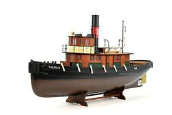 Taurus Tugboat Handcrafted Wooden Boat Model 37 - Rc Ready