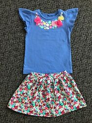 Carters Toddler Girls Set Of 2. Size 4-5T.