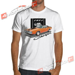 1971 Charger Super Bee Muscle car White or Gray T-Shirt