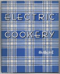 Hotpoint Stove Electric Cookery Vintage Recipe Book Booklet Cookbook Range