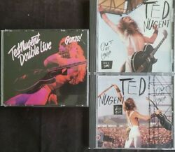 TED NUGENT - Double Live Gonzo! (2 CD Set) & Out of Control 1&2 (2 CD Set) VGC