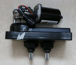 Am 235 Series Windshield Wiper Dc Gear Motor 24v Dual Driver 235-1002 And 235-2099