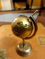 925 Sterling Silver Globe .stand