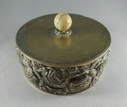 Royal Silver Box Personally Gifted By Queen Margherita Of Italy - Loa From Queen