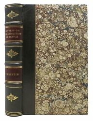 Thomas Christie / Letters On The Revolution In France And On The New 1st Ed 1791