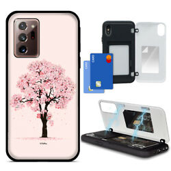 For Galaxy S20 UltraS20S20 2 Card Swing Magnetic Door Cover Rugged Case $14.99