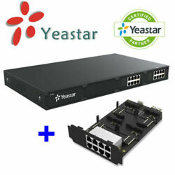 Yeastar S100 Voip Ip Pbx 100 Users Business Phone System + Ex08 Expansion Board
