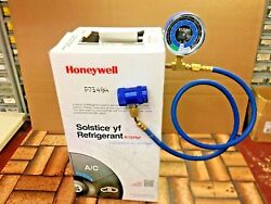 R1234yf Refrigerant Honeywell - Sealed 10 Lb Solstice Check And Charge-it Kit