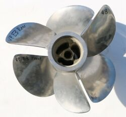 Pair Front And Rear Volvo Penta E3 Duo Prop Stainless Steel 3 Blade Propeller N8