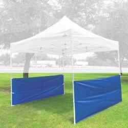 Set Of 2 Half Walls For Pop Up Tent Canopy 10and039x10and039 10and039x15and039 10and039x20and039 - Cool Colors