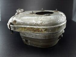 Vintage Lauson Outboard Motor Gas Tank And Cover