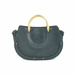 Brand New 100 Authentic Pixie Medium Suede Leather Bag Gold Hardware