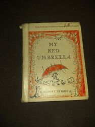 My Red Umbrella By Robert Bright, 1959 Hc Acceptable