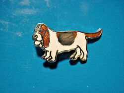 BASSET HOUND hat pin lapel pin tie tac hatpin GIFT BOXED S Clois