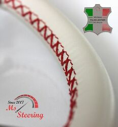 For Columbia 32 Dia 35and039and039- 39and039and039 Leather Steering Wheel Cover Diff Colors
