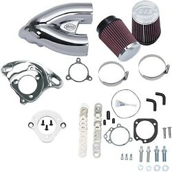Sands Cycle - 170-0308b - Tuned Induction Kit Chrome Harley-davidson Road Glide E