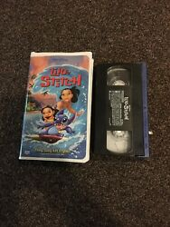 Lilo And Stitch Vhs Video Tape Walt Disney Productions 2002