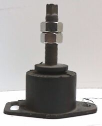 Volvo Penta Engine Rubber Cushion Mount 5and039 Tall /stud 1/2 /base 4-1/2 X 2-5/8