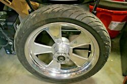 2009 Victory Vision Arlen Ness Front Wheel Rim Tire Free Shipping