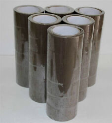 3x110 Yards Brown/tan Packaging Packing Tape 24 Rolls/case 1 Pallet 90 Cases