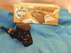Vintage AVON Pipe Decanter Deep Woods After Shave FULL 3oz. with Box