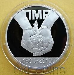 2010 Transnistria Moldova 1oz Silver Coin 20 Years Of Independence 5 Rubles Rare