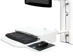 6x - Amico Sidekick Sit Stand Dual Surface Lighted Keyboard Mouse Arm Wall Mount