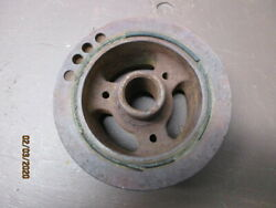 1950and039s60and039s Chevrolet Front Vibration Dampener 3 Groove Pulley.