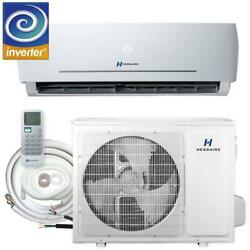 Hessaire 12000 Btu 1.0-ton Ductless Mini Split Air Conditioner Only And Heat Pump