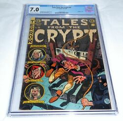 Tales From The Crypt 44 Universal Grade Comic 7.0 Guillotine Cover Headless 💎