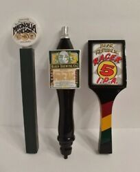 Awesome Deal Sf Bay Area Beer Tap Set Bear Republic Magnolia Marin Brewing