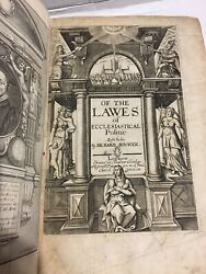 The Works Of Richard Hooker In Eight Books Of The Laws Of Ecclesiastical Polity
