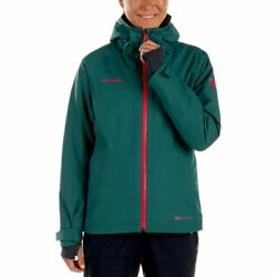 Mammut Cruise HS Thermo Jacket Women's - 2XS - GreenPink - NEW WITH TAGS!