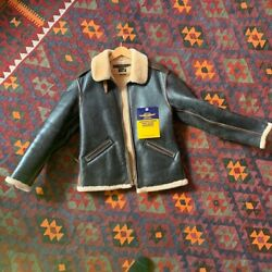 Toys Mccoy B-6 Shearling Menand039s Jacket Plain Special Edition 42