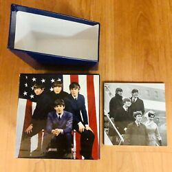 """The Beatles """"BOX amp; BOOKLET ONLY"""" Box Set 2014 Display Authentic $15.00"""