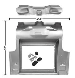 1965 66 67 68 69 70 Mustang Trunk Floor For 2 Mini Tub Coupe/fastback 3649se
