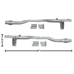 1965 66 67 68 69 70 Mustang Rear Frame Rail For Mini Tub Right And Left Side Cp/fb