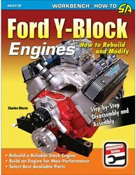 Book Ford Y-block Engines How To Rebuild And Modify In Stock Sa257p
