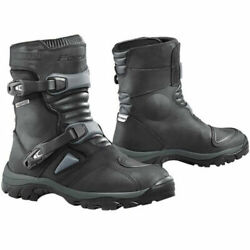 Forma Adventure Low Leather Motorcycle Boots Short Black Ride Magazine Best Buy