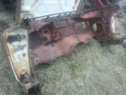 1959 Chevrolet Impala 2 Door Hardtop Rusty Cowl Section With Tag Sport Coupe