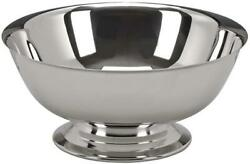 D Silver Paul Revere Style Bowl, 4 Inch Metal Bucket, Ice Silver Chiller