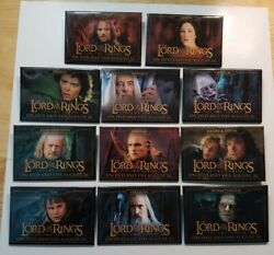 Lord Of The Rings The Two Towers Dvd Vhs Release Promo Pin Pinback Lot Of 11