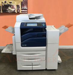 Xerox Workcentre 7835 Color Printer Scan Copier Fax Finisher Network 35ppm Laser