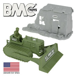 Bmc Recast Ideal Army Corps Of Engineers Bulldozer And Marx Exploding Building Usa