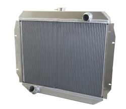 1966-1977 Ford Truck 4x4 Best Aluminum Radiator Wizard Cooling Made In Usa Auto