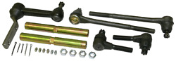 1958-60 Chevy Impala High Performance Tie Rod And Idler Arm Kit For Tubular Arms