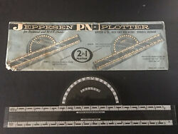 Vintage Jeppesen Pn-1 Plotter For Sectional And Wac Charts