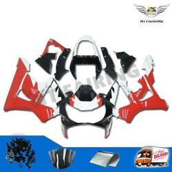 Fit For Honda 2000 2001 Red White Fairing Erion Racing Cbr929rr Injection L003